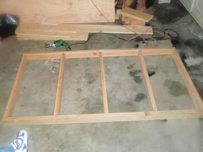Multilevel Platform Bed
